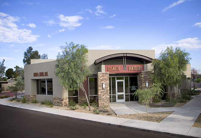 image of David R Moyer DDS Scottsdale Arizona Front office